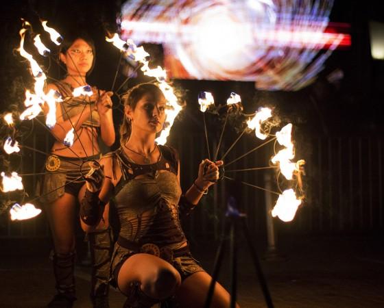 Fire show Divinitas
